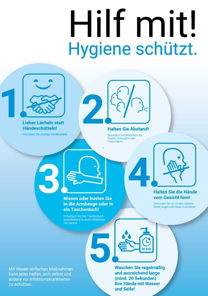 Hilf Mit - Hygiene schützt