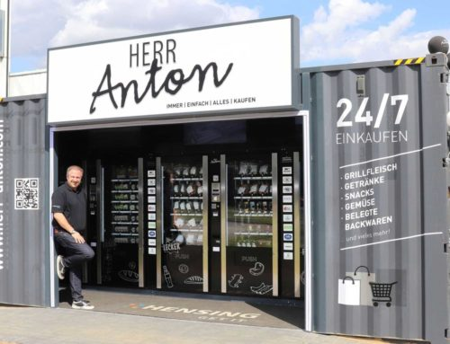 Herr Anton verkauft automatisch