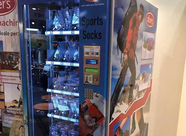 Socken Automat