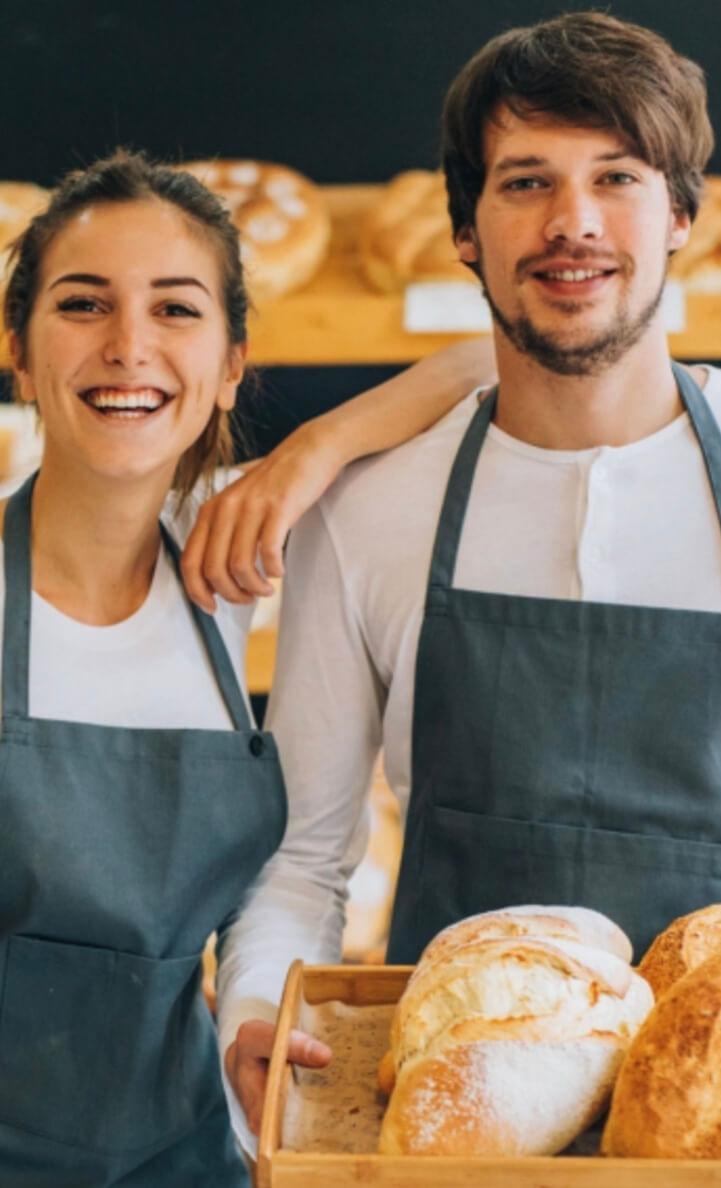 Anwendung in Bäckereien