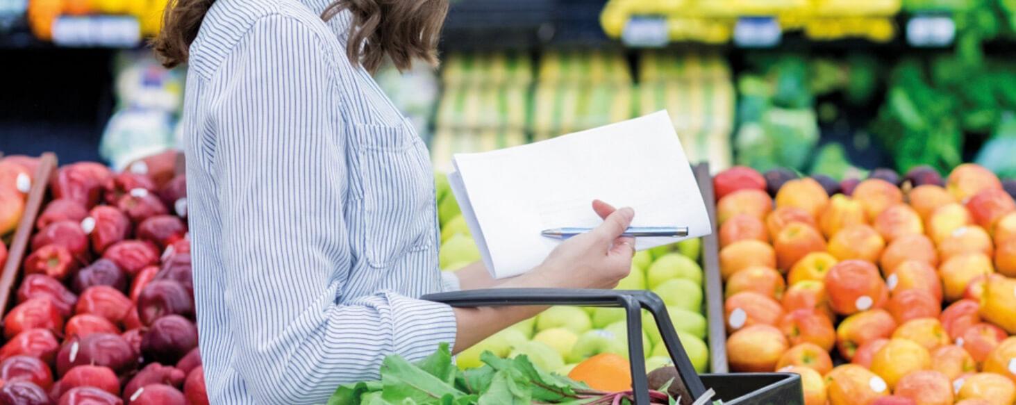 Anwendung im Lebensmitteleinzelhandel LEH