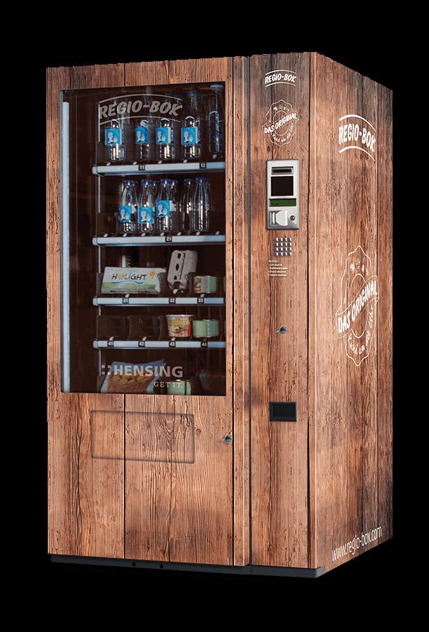 Regio-Box im Holzdesign