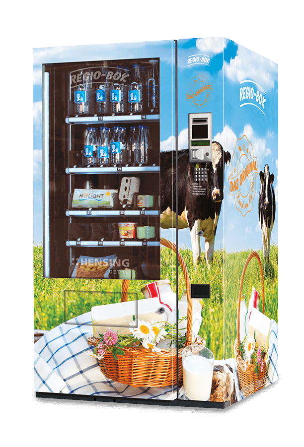 Regio-Box im Milch Design