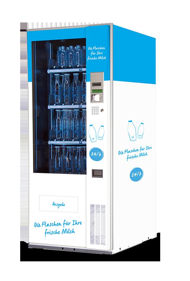 Milchtankstelle und Flaschenautomat