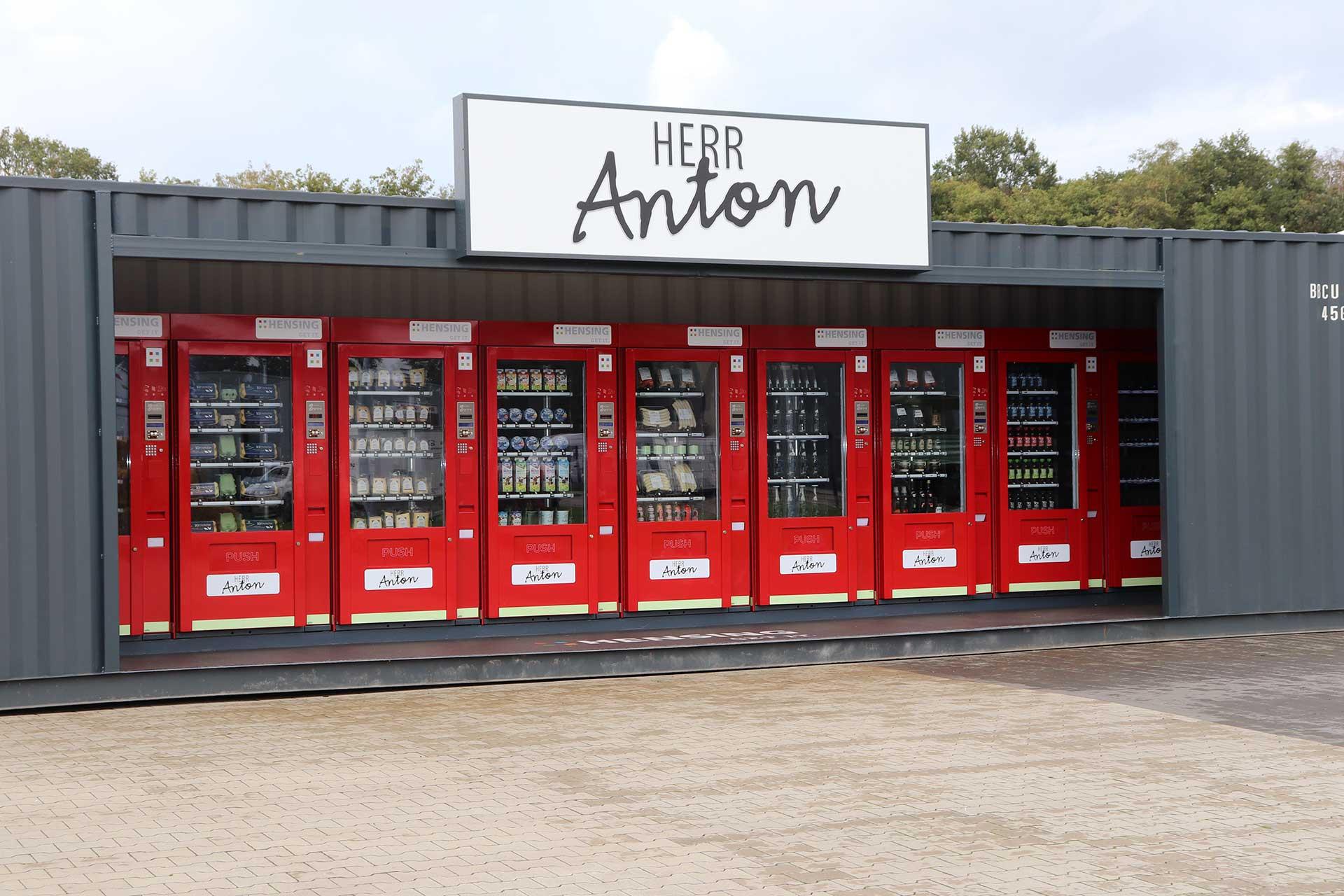 Herr Anton 40 Fuss Container