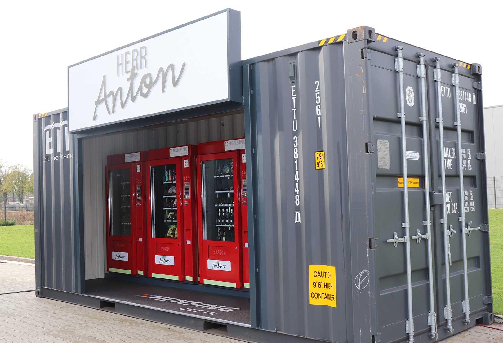 Herr Anton 20 Fuss Container