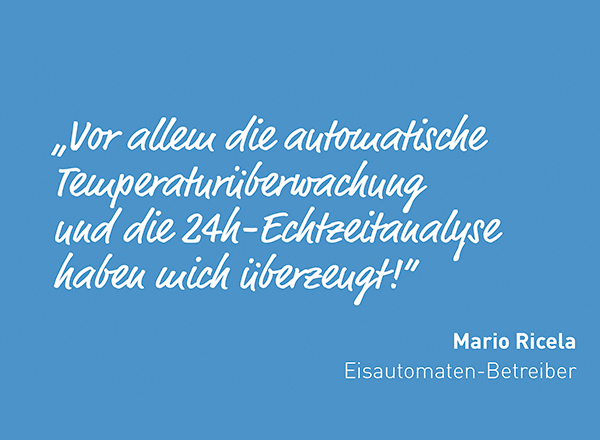 Statement Temperaturüberwachung