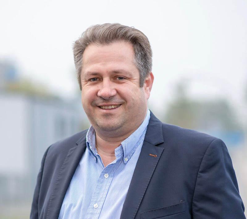 Geschäftsführer Dirk Hensing
