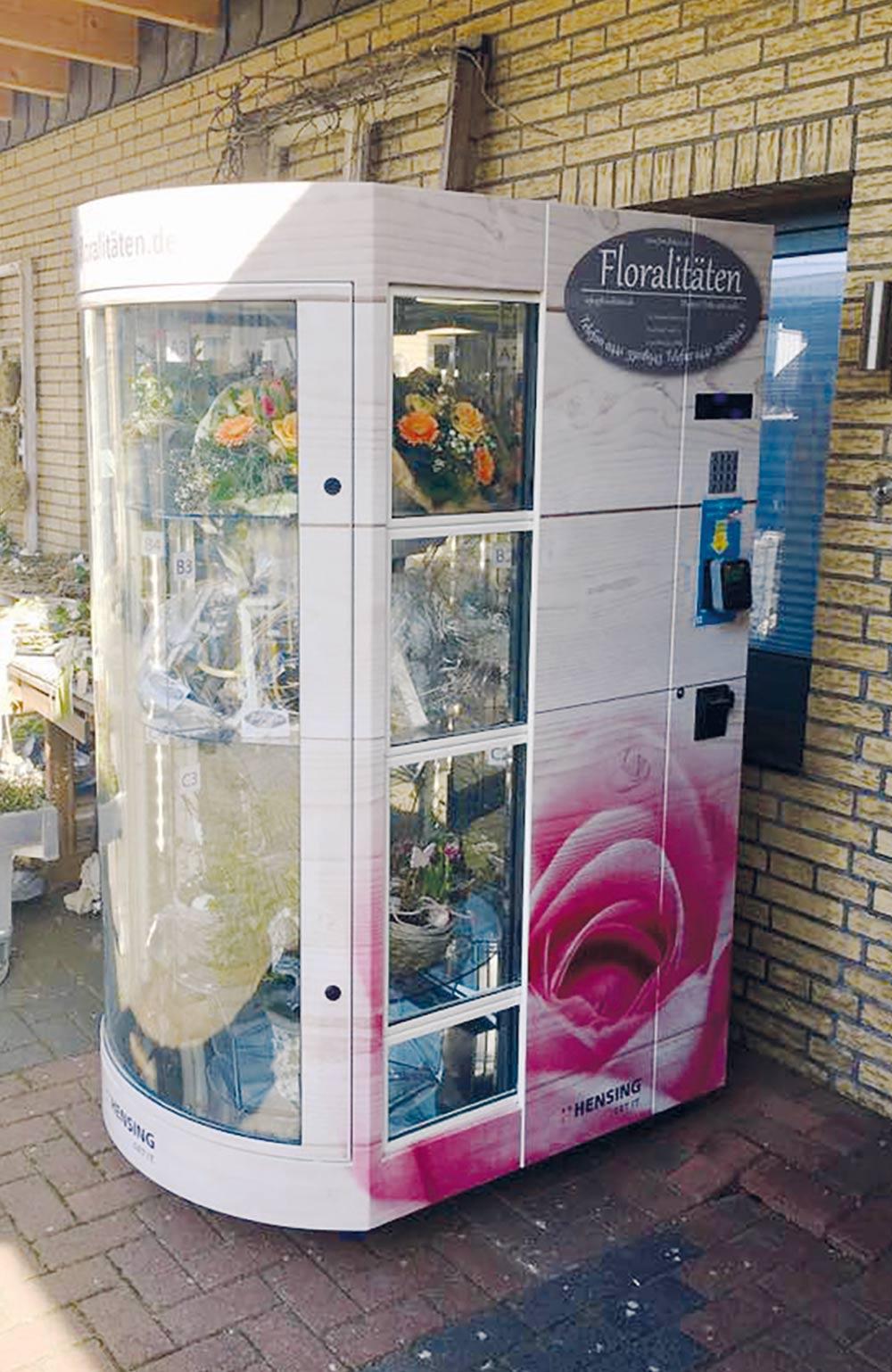 Blumen Automat Flora